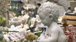 Families upset after personal items removed from grave sites