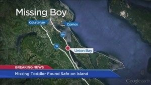 Missing Vancouver Island boy found safe