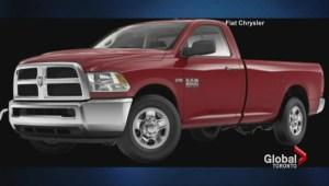 Chrysler recalls over half million trucks and SUVs