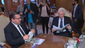 Duceppe meets with Coderre