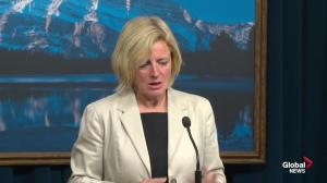 Rachel Notley says drop in oil prices is the most significant economic issue facing Alberta