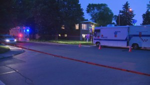 Raw video: Murder-suicide in Anjou