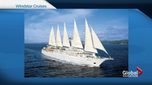 Small cruise sailing