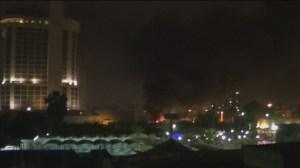 RAW: Car bombs in Iraq kill 10 in Baghdad