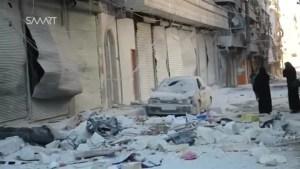 Warplanes press attack on rebel-held eastern Aleppo