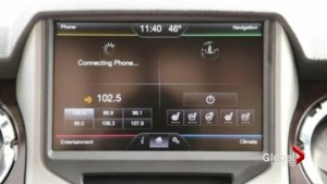 A video screen on your car's dashboard might be too distracting