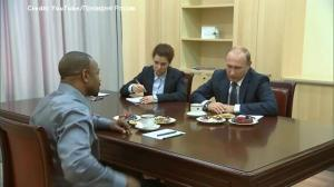 Vladimir Putin, Roy Jones Jr. talks politics, boxing, and more during face-to-face meeting
