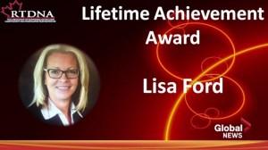 Lisa Ford honoured with RTDNA award
