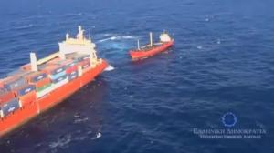 Raw video: Greek navy rescues migrants in Mediterranean