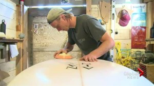 Victoria surf shop goes off the grid