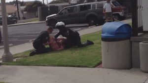 Shocking video captures violent arrest of California woman