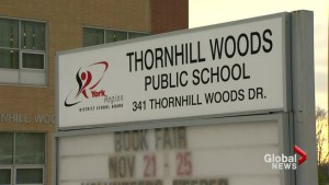 Thornhill elementary school dealing with suspected norovirus outbreak