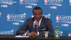 'It's one game': Raptors coach talks team losing Game 1 to Cavaliers