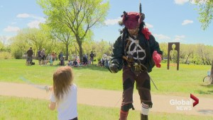 Regina pirates steal the show for first day of Cathedral Village Arts Festival