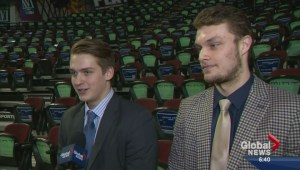 Interview: Keegan Kanzig and Jake Virtanen