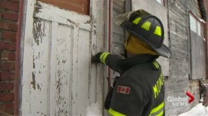Abandoned buildings concern for firefighters amidst cold