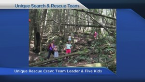 Kids helped NSR find a missing hiker on the North Shore