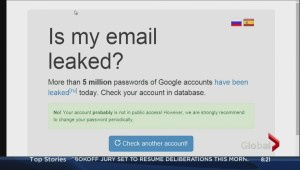 Gmail accounts hacked