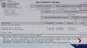 Calgarians shocked by city tax increases