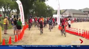 Biking to raise money for the MS Society