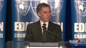 Prentice at Chamber of Commerce