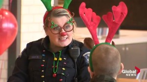 Kids and cops take over Halifax Shopping Centre