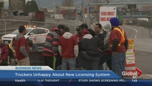 BIV: Truckers unhappy about new licensing system