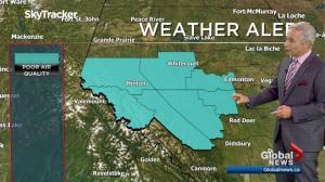 Edmonton early morning weather forecast: Wednesday, July 12, 2017