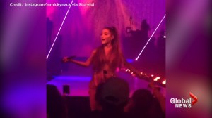 Video of Ariana Grande performing before explosion killed multiple people