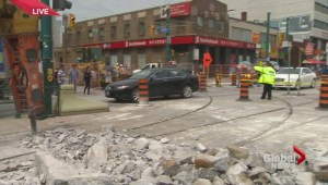 Dundas and Spadina fully closed for two weeks