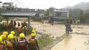 Rescue efforts underway after Typhoon Soudelor hits Taiwan