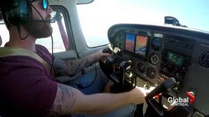 Quebec's first English flight school