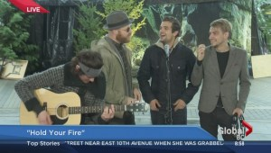 Gay Nineties perform 'Hold Your Fire'