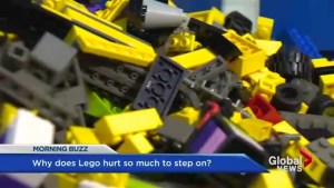 That hurts! Why does Lego cause so much pain?