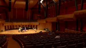 Putting the new Bella Concert Hall to the test