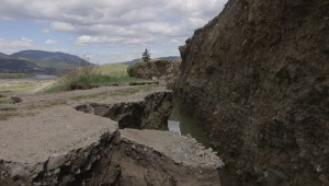 Shifting slope threatens Kamloops homes