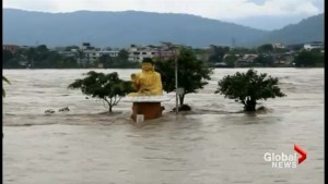 At least 55 dead as monsoon rains flood Nepal
