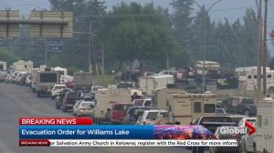 Streets of Williams Lake empty out after evacuation order