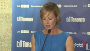 Karen Stintz withdraws from Toronto mayoral race