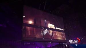 Alberta sisters dance alongside Justin Bieber