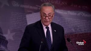 Senator Schumer attacks Trump over 'troubling' firing of James Comey