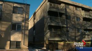 Police investigate central Edmonton apartment fire