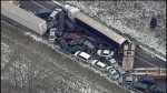 3 dead after pile-up involving nearly 40 vehicles on Michigan highway