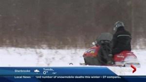 Snowmobile deaths