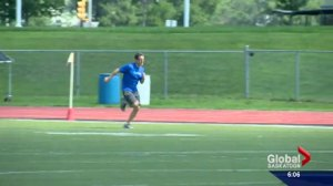 There is a danger Saskatoon's only outdoor running track could be torn out