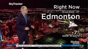 Edmonton early morning weather forecast: Monday, March 20, 2017