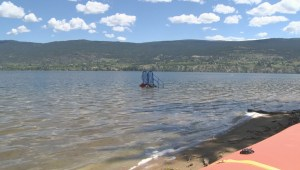 Summerland water levels