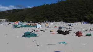 Researchers find remote South Pacific island littered with plastics, trash