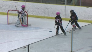 Global Edmonton MVP: Michael Tosto gets a crash course in ringette