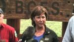 Presser: Christy Clark tours Pemberton fire camp